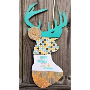 Christian Deer 🦌 Head Wall Hanger